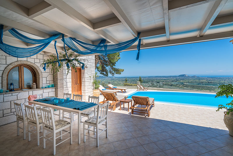Castelli Luxury Villa - Zakynthos Villas Zante Greece